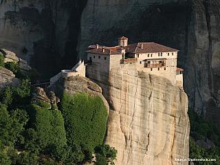 Meteora - na křídlech létajících klášterů II. (Řecko)