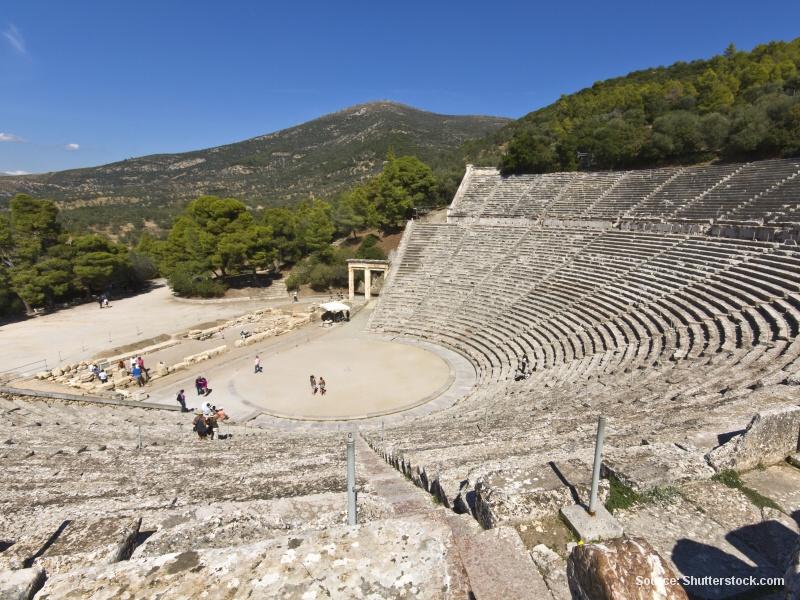 Epidauros - amfiteátr boha lékařství