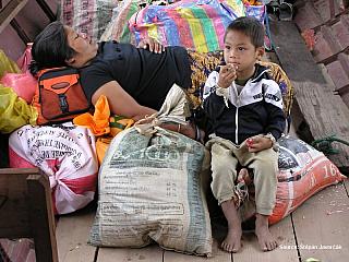 Štěpa ze světa 21 – cesta do Pakbeng (Laos) (Laos)