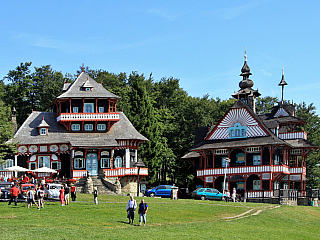Fotogalerie Pustevny v Beskydech (Česká republika)
