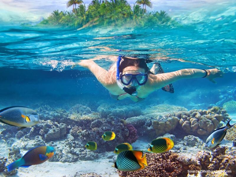 Klenoty Thajska - podmořské parky a korálové zahrady