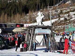 Fotogalerie Gerlitzen Ski Center v Korutanech (Rakousko)