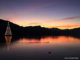 Jezero Wörthersee (Rakousko)